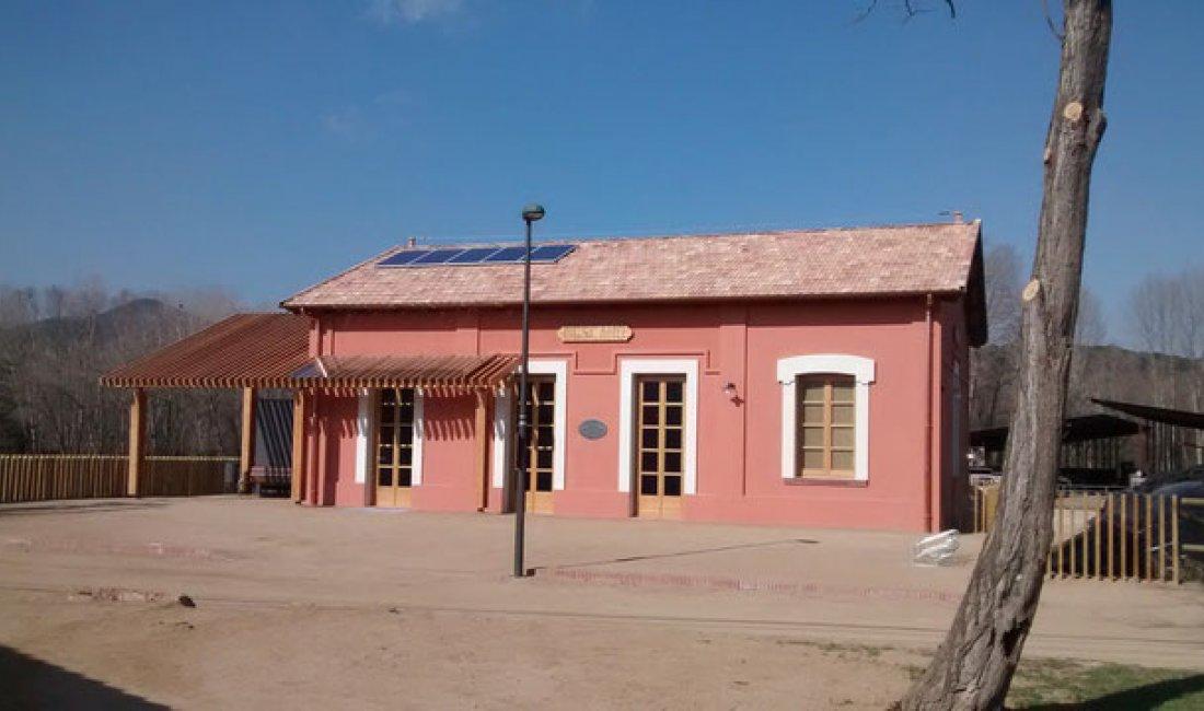 Instalación de un sistema fotovoltaico para autoconsumo en la nueva estación de