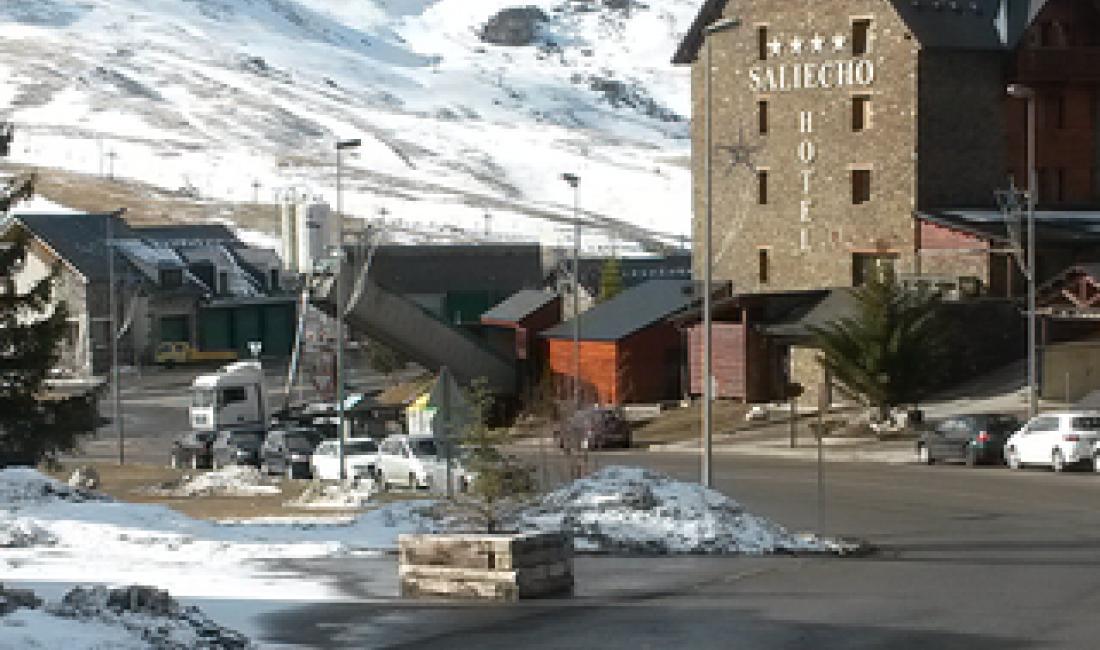 Central tèrmica de biomassa de 500 kW a l'Hotel Saliecho de Formigal.