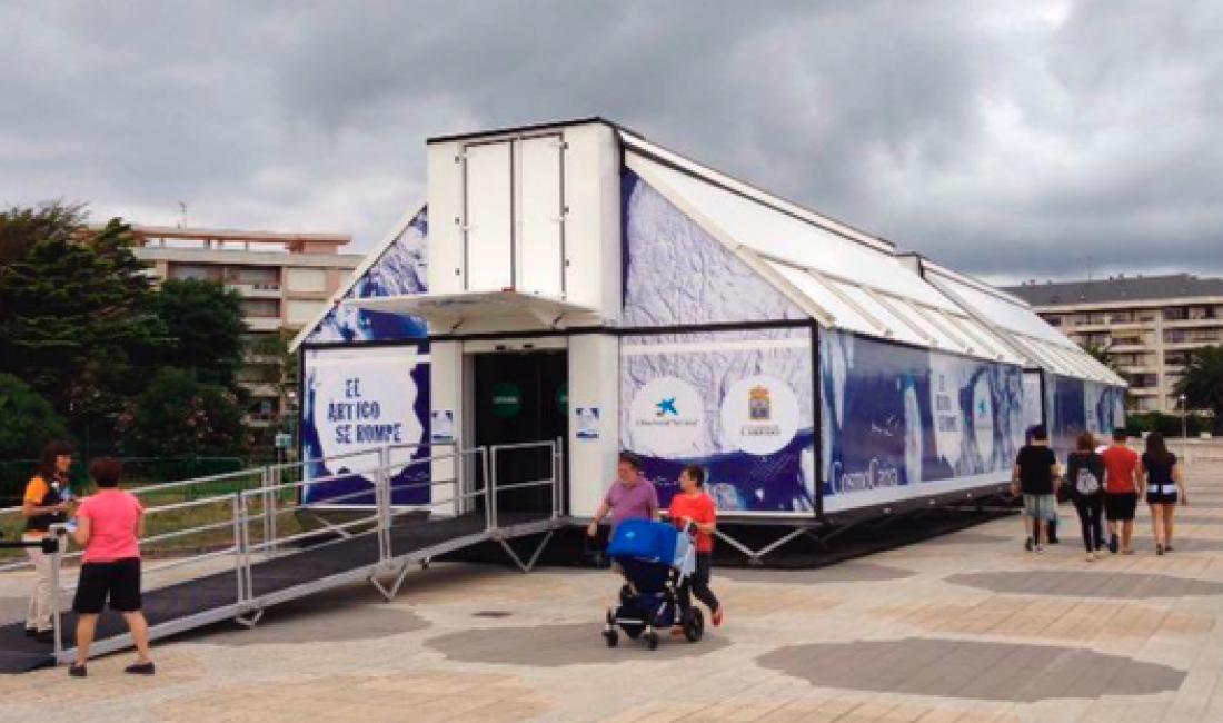 Proyecto para la instalación de tres exposiciones itinerantes para la Fundació Bancària de la Caixa.