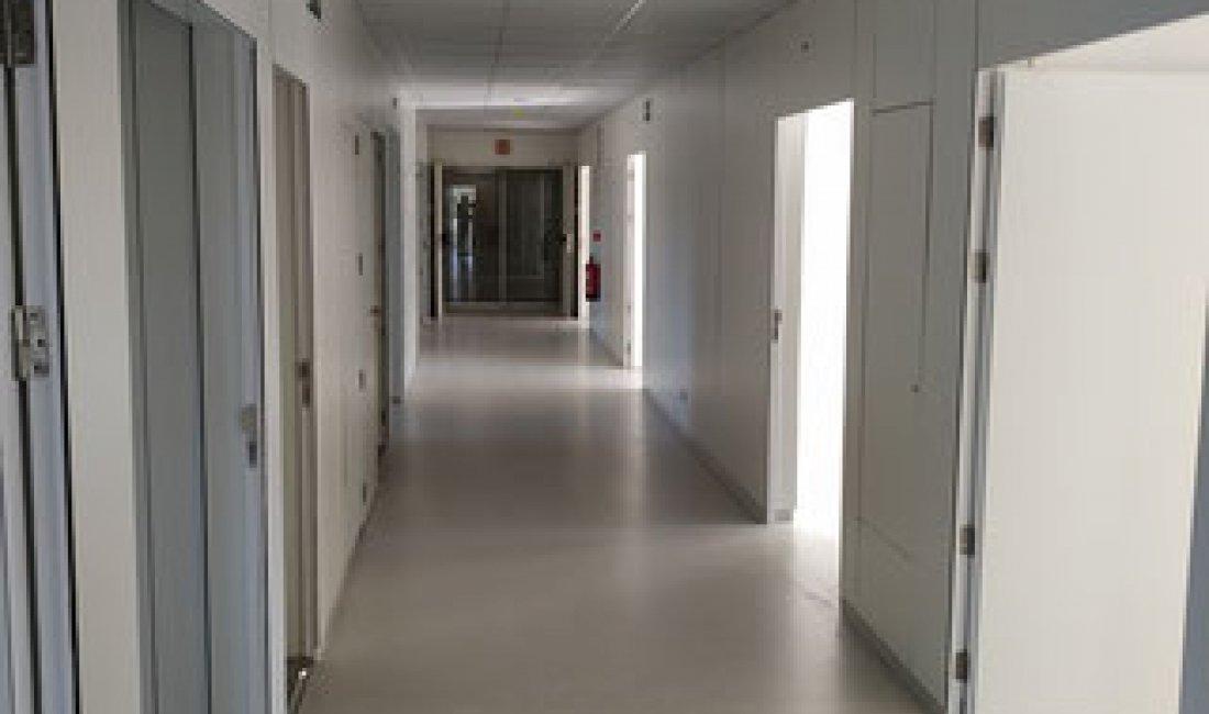 Reforma de 350 m² de l'àrea de cardiologia de la 7a planta de l'Hospital Universitari de Girona Dr. Josep Trueta.
