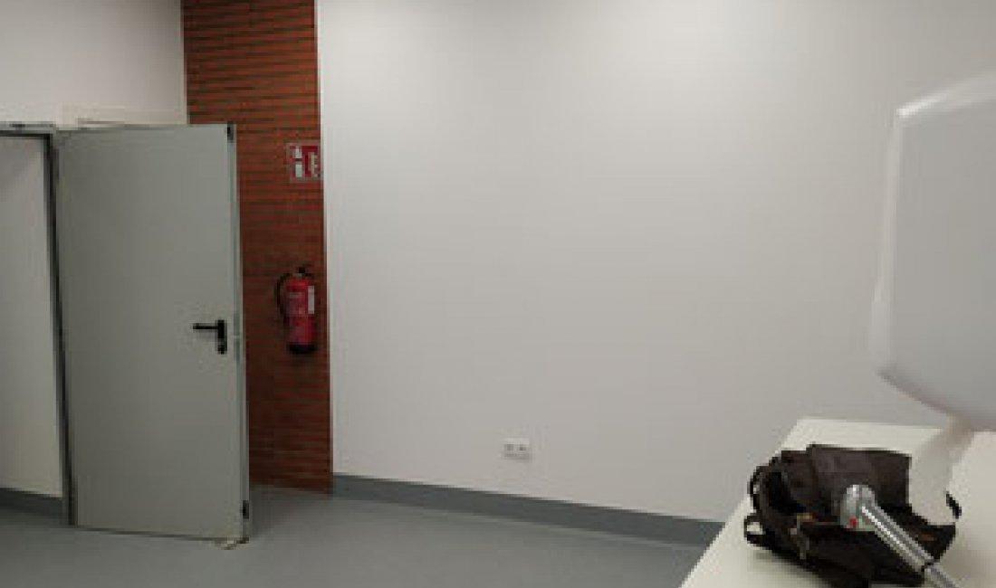 Reforma de vestidores del almacén general del complejo Hospitalari Universitari de Girona Dr. Josep Trueta.