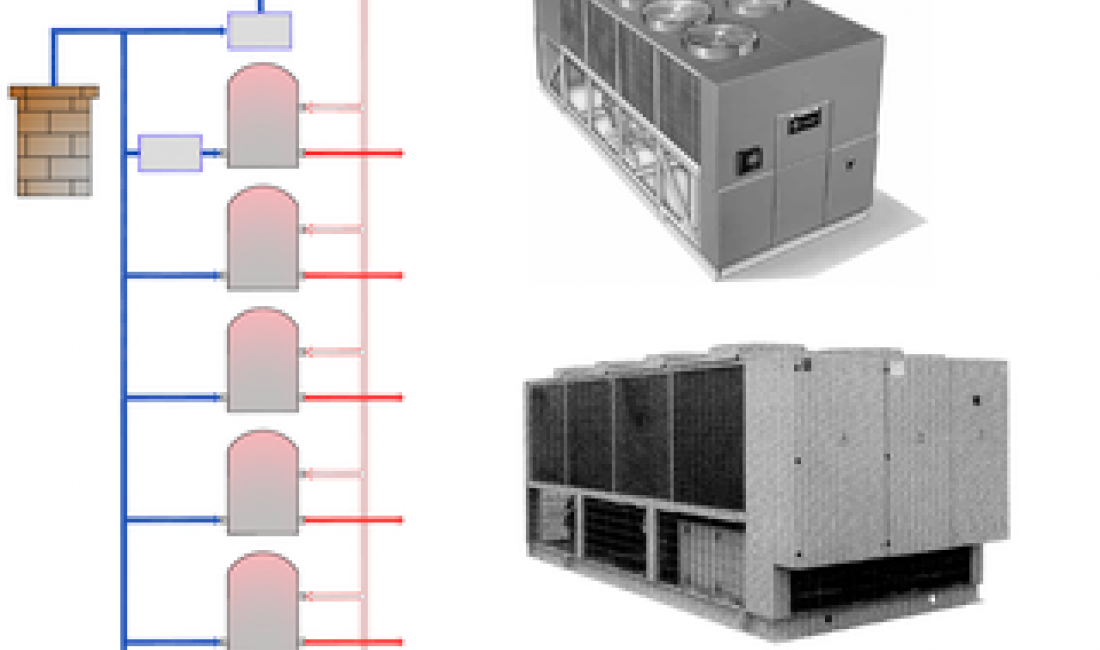 Recuperació de la calor dels gasos de combustió de les calderes del forn socarrador de l'escorxador Norfrisa per generar aigua calenta sanitària.